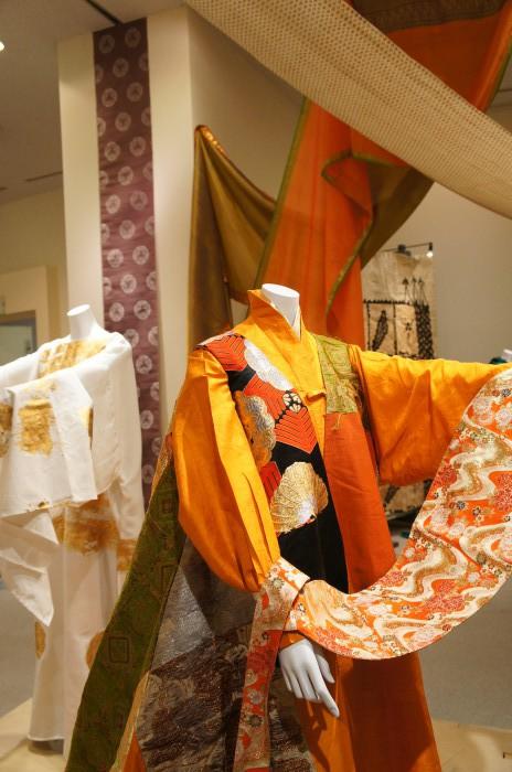 衣文化と文様展 衣装:時広真吾